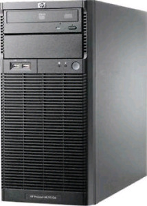 "HP ML330 G6 Tower for NAS: 4 x 3.5"" bays + Quad core+ 18GB RAM"