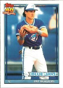 Pat Borders - Card says he stoled 40 bases