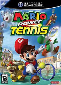 mario tenis gamecube