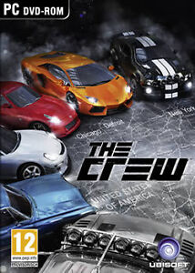 PC Gaming - PC DVD Online Gaming (Brand New) The Crew