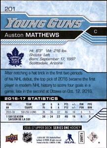 Austin Matthews Young Gun Card Kitchener / Waterloo Kitchener Area image 2