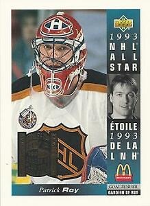 Patrick Roy 4x5.5 inch Collectable Hockey Card