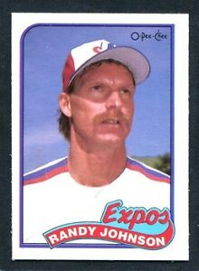 Randy Johnson Rookie Card