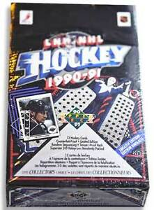 Upper Deck 1990-1991 Hockey Factory Sealed Box ENG Version