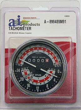 A-898489m91 Massey Ferguson Parts Tachometer Mph  165 Uk 175 Uk 178