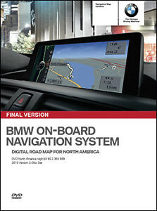 2015 BMW NAVIGATION DVD -HIGH VERSION for trunk mounted Nav,