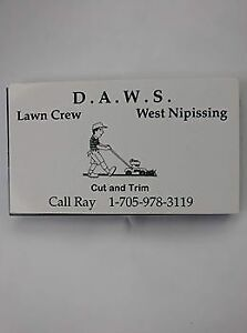 D.A.W.S Lawn Crew-Lawn cutting and trimming