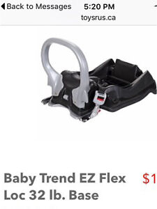 Wanted: baby trend car seat base