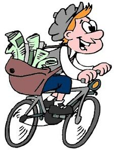 Newspaper Delivery Driver