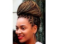 Mobile box braid and crochet braiding within the Glasgow area, mainly in the evening or weekends.