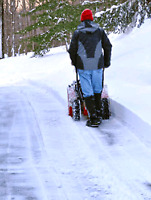 Snow removal services! Great prices, book us for the season!