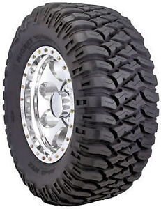 4 X New 33X12.5R15 LT MICKEY THOMPSON BAJA MTZ MUD CHUNKY TYRES !!