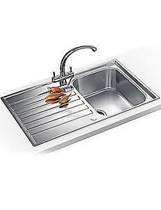 Stainless steel kitchen sink ebay used stainless steel kitchen sink workwithnaturefo