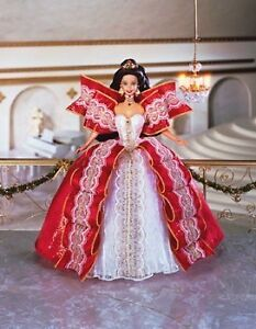 Holiday 10th Anniversary Special Edition Barbie 1997