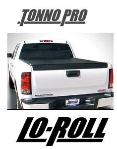 TonnoPro Lo Roll Tonneau Cover Bed Made to work with over 100 Trucks