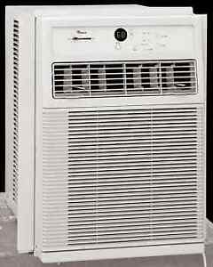 Room air conditioner for slider and casement windows
