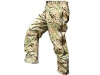 Lightweight water proof trousers (army issue)
