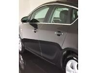 Vauxhall Astra j 4 doors complete with wing mirror and glass and panel