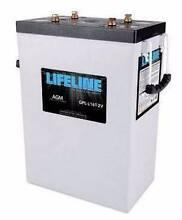 A pair of Lifeline L16T 400ah AGM RV batteries Byron Bay Byron Area Preview