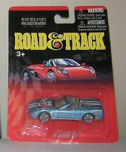 Hard to find ,  Road & Track  DieCast Models.