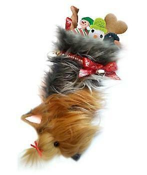 Yorkie Dog Christmas Stocking,  Holiday Stocking for your dog