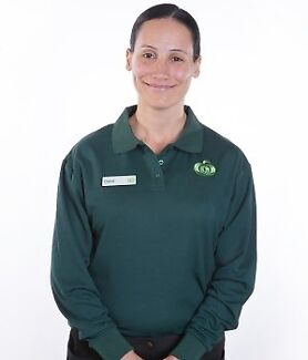 Woolworths Uniform Womens Longlife Long Sleeve Polo - Size 12