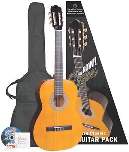 encore enc34 three quarter size classical acoustic guitar nylon strung strings ebay. Black Bedroom Furniture Sets. Home Design Ideas