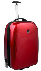 Heys Xcase Carry on luggage (red)