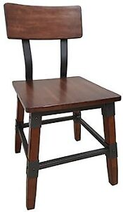 RESTAURANT INDUSTRIAL METAL DINING CHAIR BAR STOOL