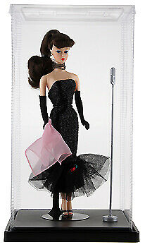 Expocase Plastic Doll Display Case 7 W X 7 D X 12 H