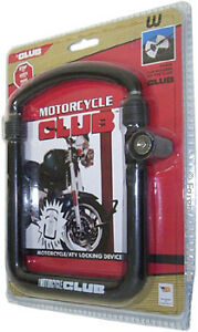 New - MOTORCYCLE BIKE LOCKS BY THE CLUB - Tough Locks at a Surplus Price!