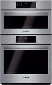 """30"""" speed combination oven, stainless, Bosch"""