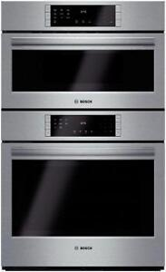 Four combiné, cuisson rapide, 30 po, stainless, Bosch