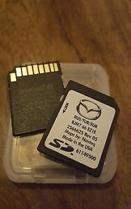 OEM Mazda Navigation SD Card
