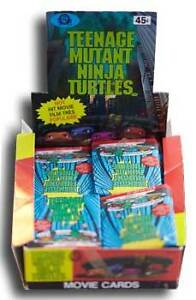 TMNT Movie Cards Sealed Wax Packs O-PEE-CHEE
