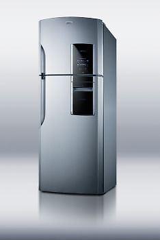 18 cu.ft. frost-free refrigerator-freezer in platinum