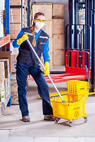 WE ARE FAMILY OWNED AND OPERATED CLEANING AND JANITORIAL SERVICE