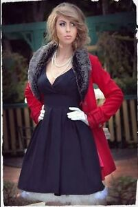 Kitten D'Amour Red Coat with black fur, size M Manly Manly Area Preview