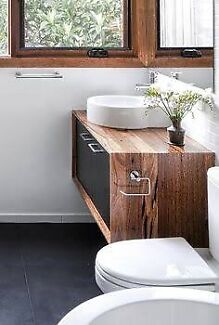 FLOATING VANITIES | Recycled Timber