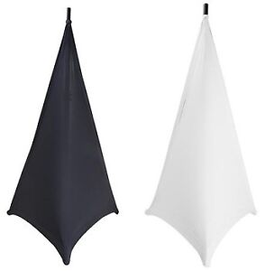 Wait - What - Speaker Stand Skirt - Scrims - both black & white