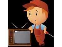 TV Aerial & Satellite repair and installer TV Wall Mount Service