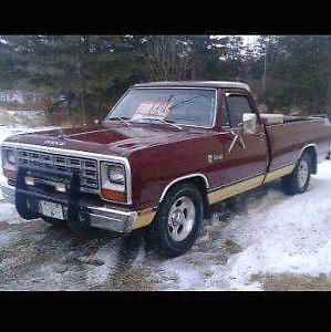 """1982 Dodge Ram """"Slant Six"""" D150"""