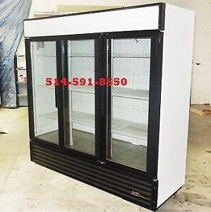 CONGELATEUR COMMERCIAL  2 & 3 PORTES FREEZER Glass door
