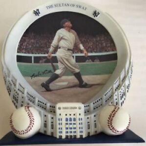 Babe Ruth Collector Plate