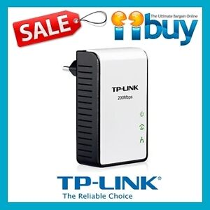 TP-Link TL-PA211 Powerline Ethernet Adapter Mini Size HomePlug AV Single Pack