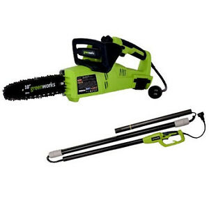 Greenworks-7-Amp-Corded-10-in-2-in-1-Electric-Chain-Saw-Pole-Saw-20062-NEW