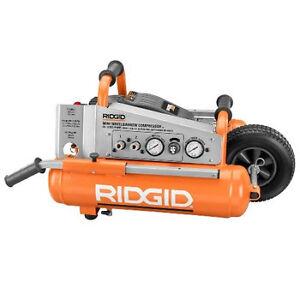 Ridgid 1 2 HP 5 Gallon Mini Wheelbarrow Air Compressor