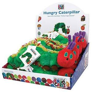 Eric-Carle-VERY-HUNGRY-CATERPILLAR-Baby-Soft-Bean-Toy-26cm