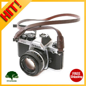 NEW-MATIN-Leather-Camera-Strap-DENEB-12DN-Brown-for-Canon-Nikon-Sony-Pentax