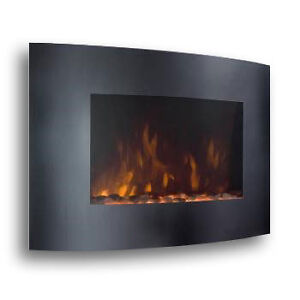 XL-Large-35-x22-1500W-Adjustable-Heat-Electric-Wall-Mount-Fireplace